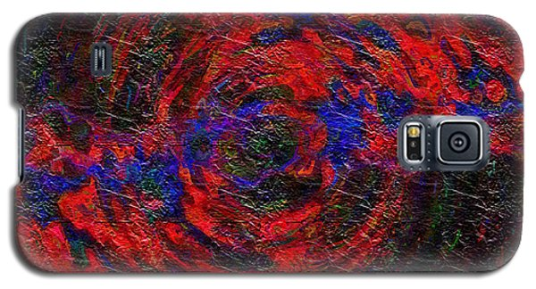 Galaxy S5 Case featuring the digital art Nebula 1 by Charmaine Zoe