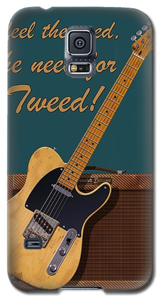 Need For Tweed Tele T Shirt Galaxy S5 Case by WB Johnston