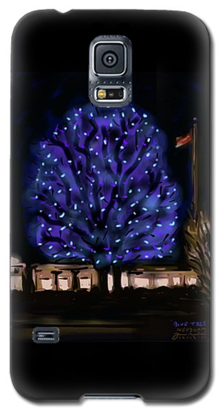 Needham's Blue Tree Galaxy S5 Case by Jean Pacheco Ravinski