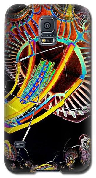Needle In Fractal 2 Galaxy S5 Case by Tim Allen