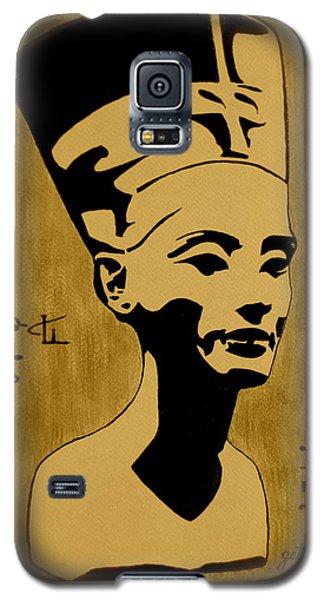 Nefertiti Egyptian Queen Galaxy S5 Case by Georgeta  Blanaru
