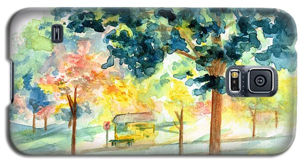 Neighborhood Bus Stop Galaxy S5 Case