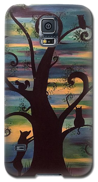 Neighborhood Tree Galaxy S5 Case