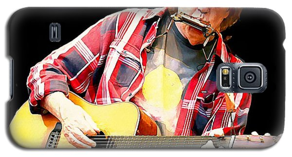 Neil Young Galaxy S5 Case by John Malone