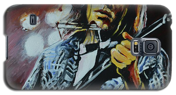 Neil Young Galaxy S5 Case - Neil Young by Melissa O'Brien