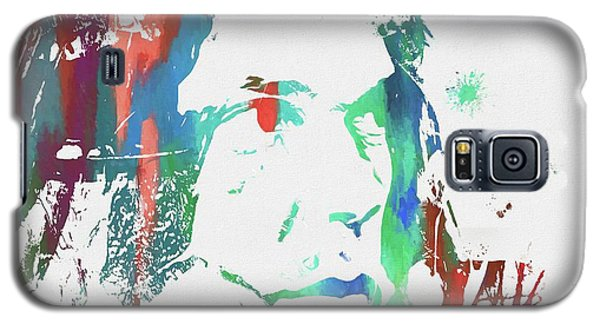 Neil Young Paint Splatter Galaxy S5 Case by Dan Sproul