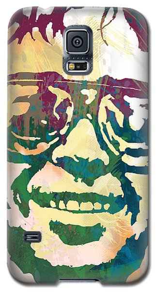 Neil Young Galaxy S5 Case - Neil Young Pop Stylised Art Poster by Kim Wang