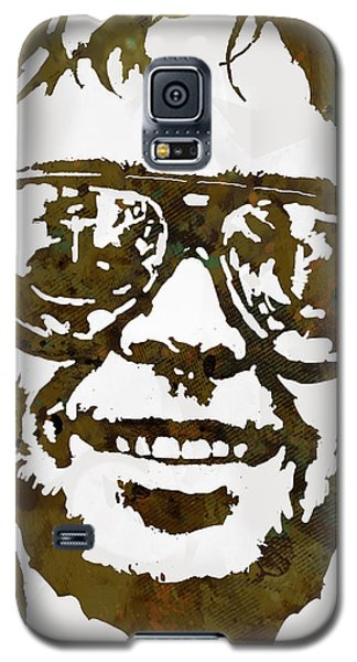 Neil Young Pop  Stylised Art Sketch Poster Galaxy S5 Case by Kim Wang