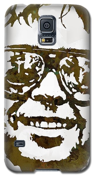 Neil Young Galaxy S5 Case - Neil Young Pop  Stylised Art Sketch Poster by Kim Wang