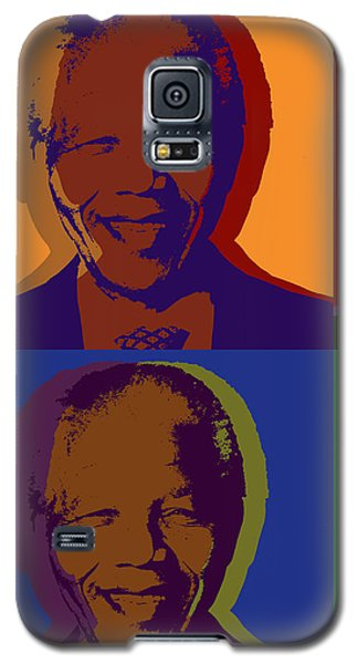 Nelson Mandela Pop Art Galaxy S5 Case
