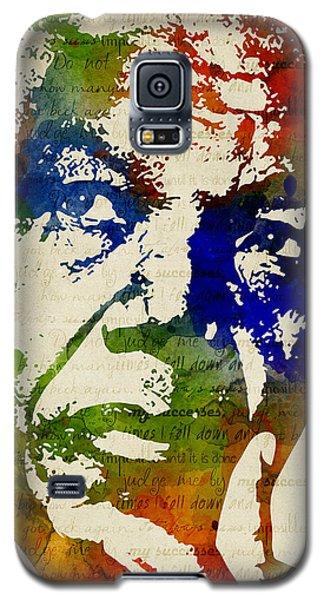 Nelson Mandela Watercolor Galaxy S5 Case