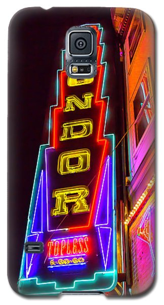 Neon Condor San Francisco Galaxy S5 Case