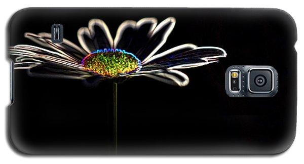 Neon Flower Galaxy S5 Case