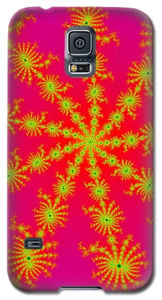 Neon Fractals Galaxy S5 Case
