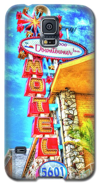 Neon Motel Sign Galaxy S5 Case by Jim And Emily Bush