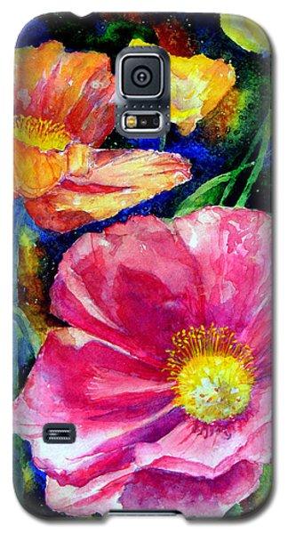 Neon Poppies Galaxy S5 Case