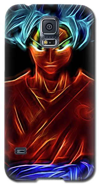 Neon Ss God Goku Galaxy S5 Case