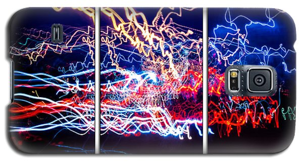 Neon Ufa Triptych Number 1 Galaxy S5 Case by John Williams
