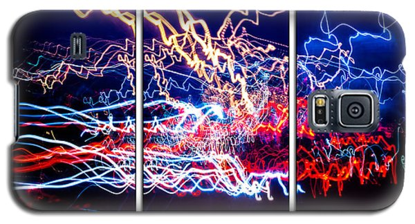 Neon Ufa Triptych Number 1 Galaxy S5 Case
