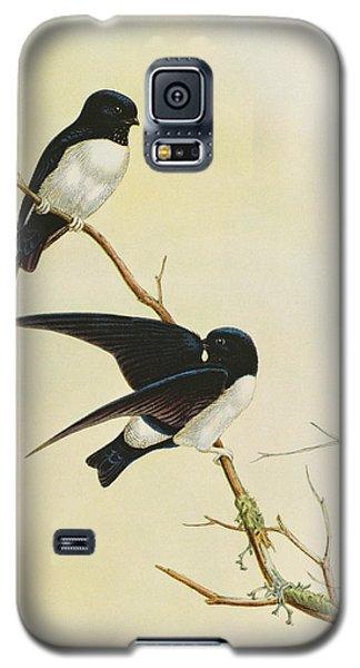 Nepal House Martin Galaxy S5 Case by John Gould