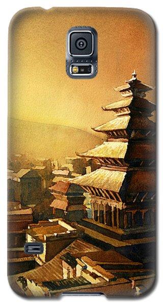 Nepal Temple Galaxy S5 Case