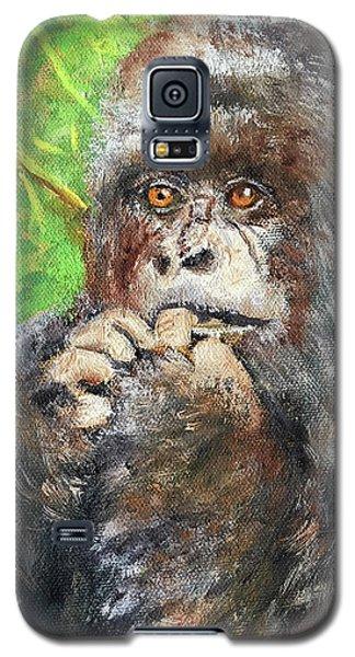 Nervous Mama Gorilla Galaxy S5 Case
