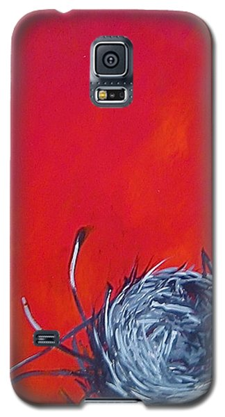 Nest On Red Galaxy S5 Case