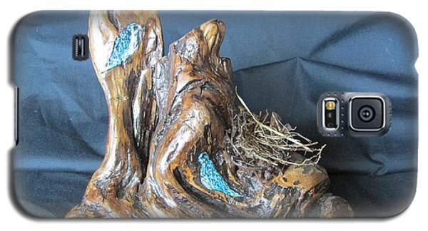 Galaxy S5 Case featuring the painting Nesting by Cheryl Bailey