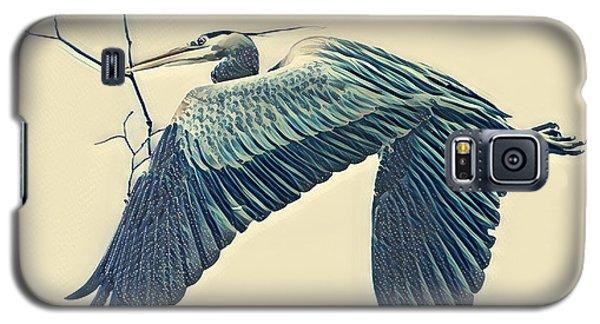 Nesting Heron Galaxy S5 Case
