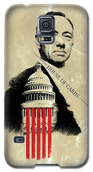 Netflix House Of Cards Frank Underwood Portrait  Galaxy S5 Case