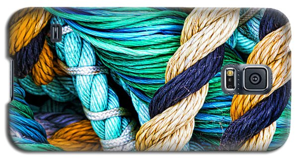 Nets And Knots Number Five Galaxy S5 Case by Elena Nosyreva