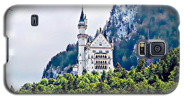 Neuschwanstein Castle With A Glider Galaxy S5 Case