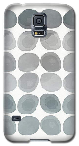 Neutral Stones- Art By Linda Woods Galaxy S5 Case by Linda Woods
