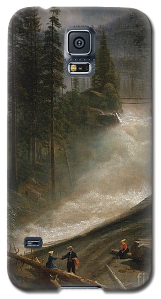 Galaxy S5 Case featuring the photograph Nevada Falls Yosemite                                by John Stephens
