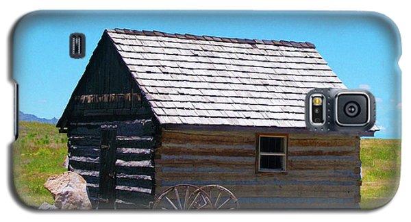 Nevada Log Cabin Galaxy S5 Case