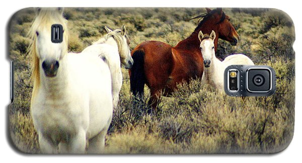 Nevada Wild Horses Galaxy S5 Case