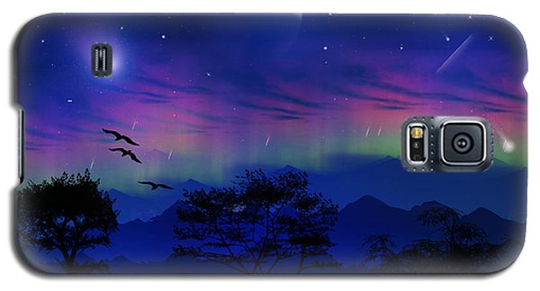 Galaxy S5 Case featuring the photograph Neverending Nights by Bernd Hau