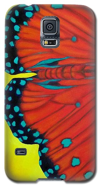Galaxy S5 Case featuring the painting New Beginnings by Susan DeLain