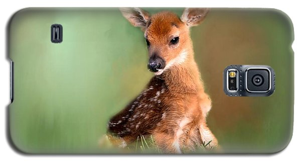 Galaxy S5 Case featuring the photograph New Born Baby by Brenda Bostic