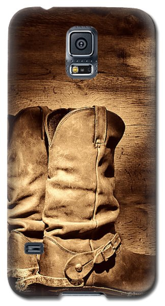 New Cowboy Boots Galaxy S5 Case