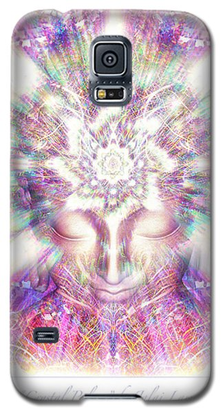 Galaxy S5 Case featuring the painting New Crystal Palace Poster  by Jalai Lama