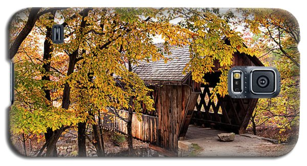 New England College No. 63 Covered Bridge  Galaxy S5 Case