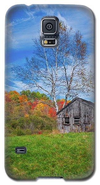 New England Fall Foliage Galaxy S5 Case
