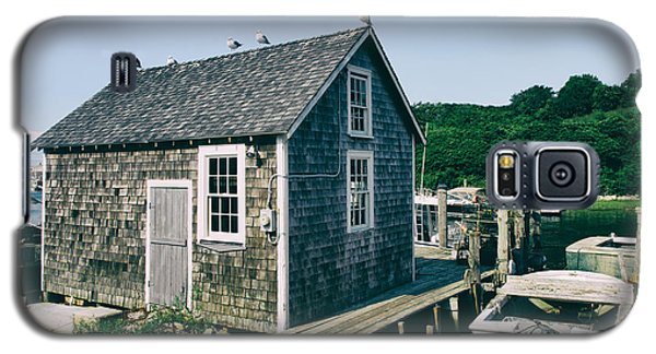 New England Fishing Cabin Galaxy S5 Case by Mark Miller
