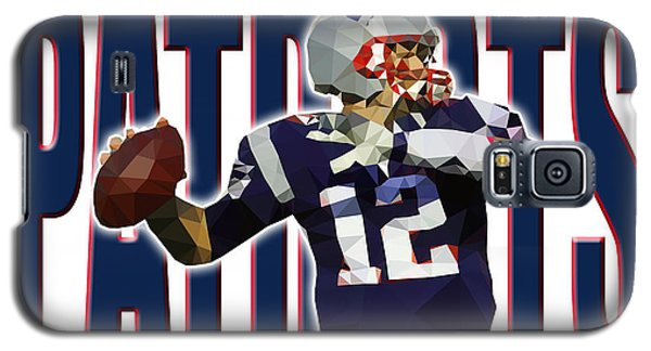 Galaxy S5 Case featuring the digital art New England Patriots by Stephen Younts