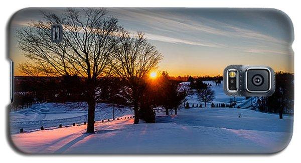 New England Sunrise Galaxy S5 Case