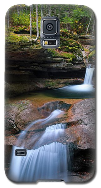 New Hampshire Sabbaday Falls Panorama Galaxy S5 Case