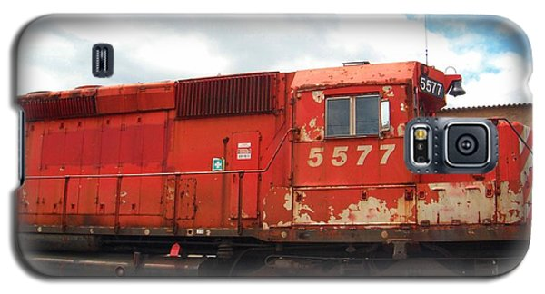 Galaxy S5 Case featuring the photograph New Hope Train by Susan Carella