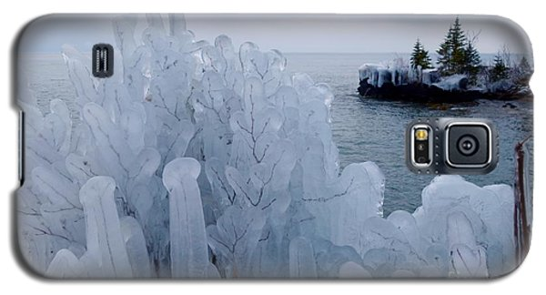 New Ice On Lake Superior Galaxy S5 Case by Sandra Updyke