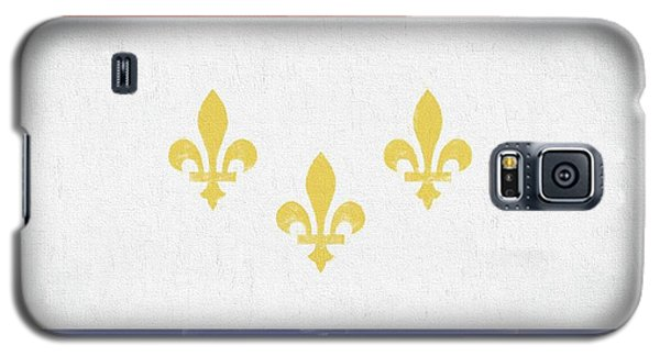 Galaxy S5 Case featuring the digital art New Orleans City Flag by JC Findley